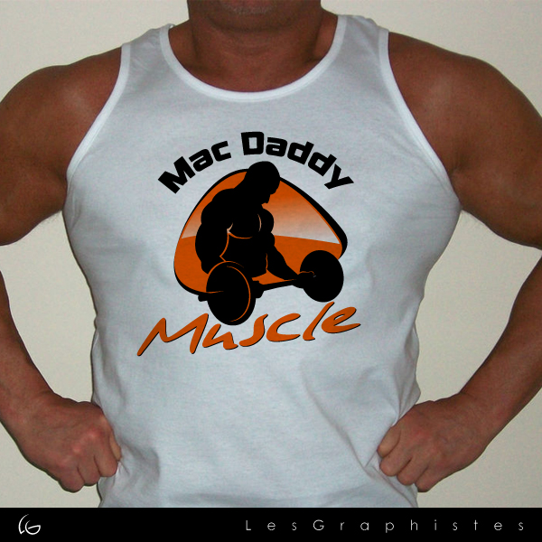 Logo Design by Les-Graphistes - Entry No. 32 in the Logo Design Contest New Logo Design for Mac Daddy Muscle.