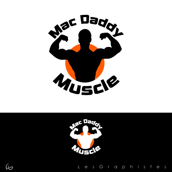 Logo Design by Les-Graphistes - Entry No. 33 in the Logo Design Contest New Logo Design for Mac Daddy Muscle.