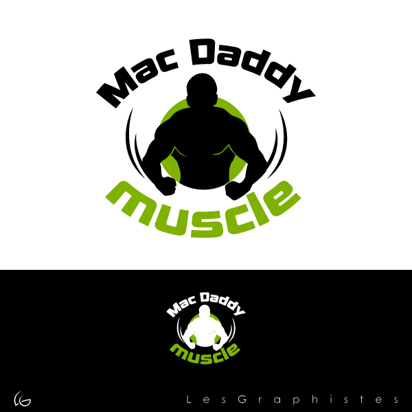 Logo Design by Les-Graphistes - Entry No. 34 in the Logo Design Contest New Logo Design for Mac Daddy Muscle.