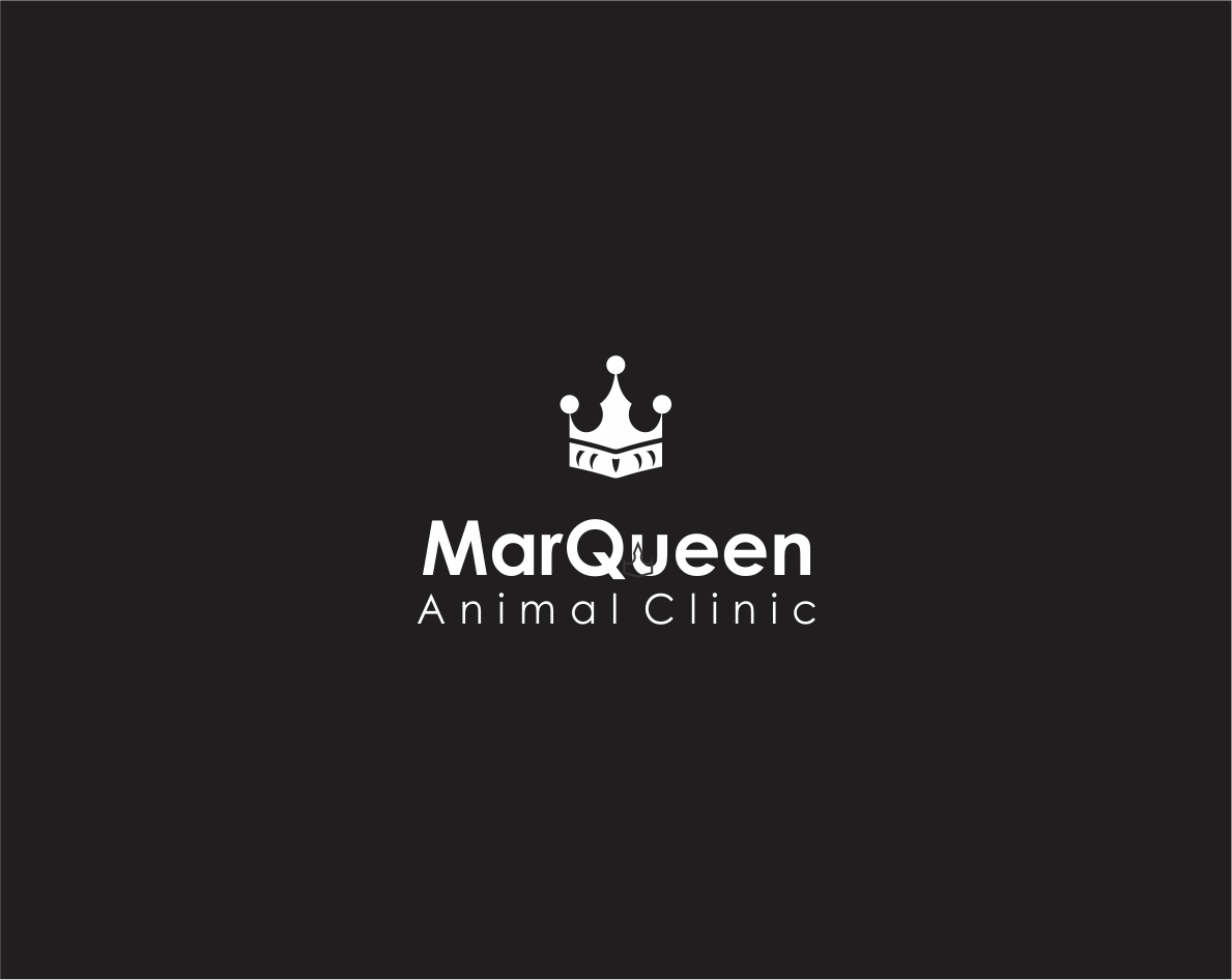 Logo Design by Armada Jamaluddin - Entry No. 140 in the Logo Design Contest Fun Logo Design for MarQueen Animal Clinic.