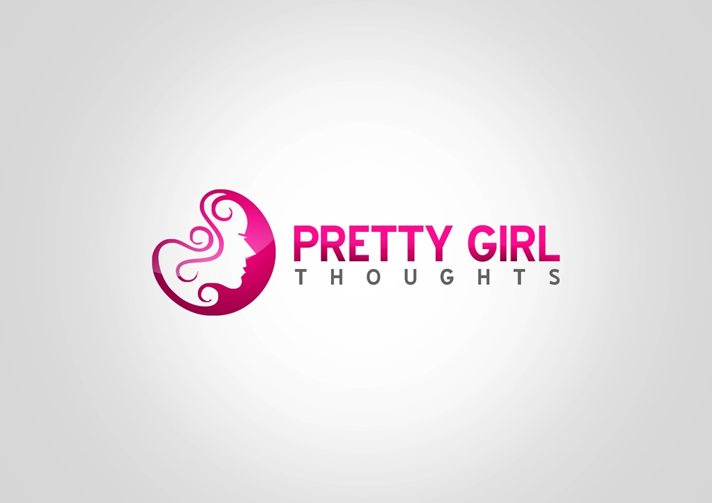Logo Design by Respati Himawan - Entry No. 35 in the Logo Design Contest Inspiring Logo Design for Pretty Girl Thoughts.