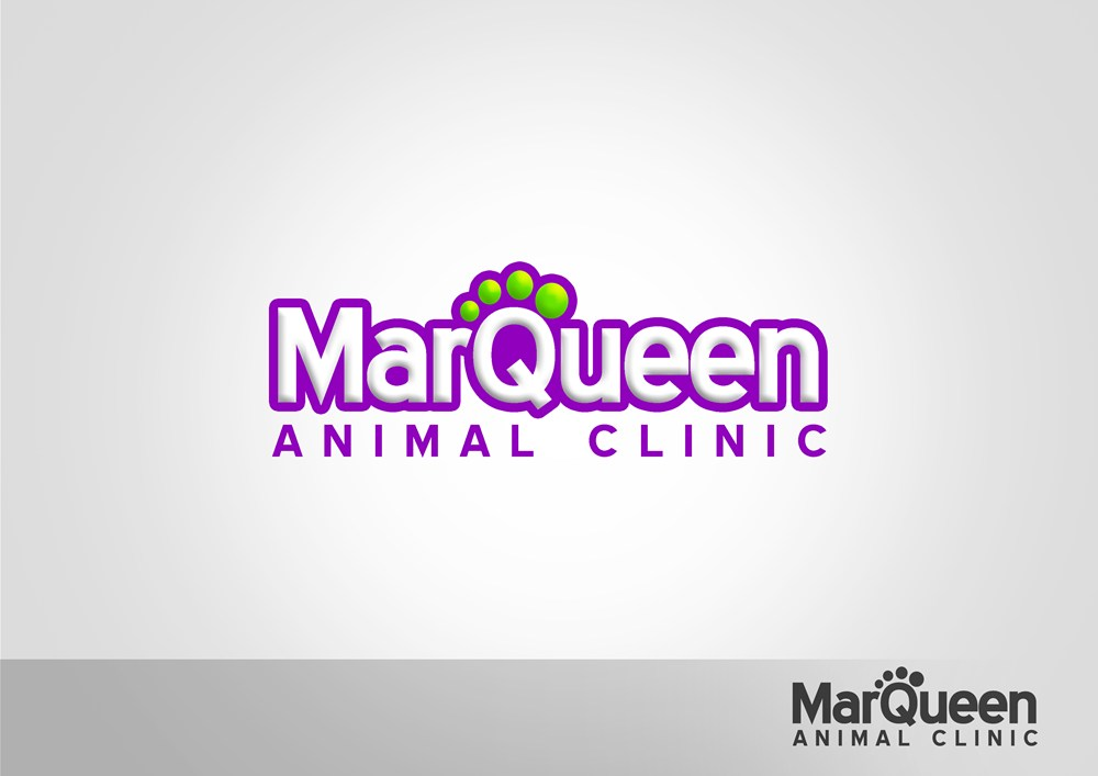 Logo Design by Respati Himawan - Entry No. 143 in the Logo Design Contest Fun Logo Design for MarQueen Animal Clinic.