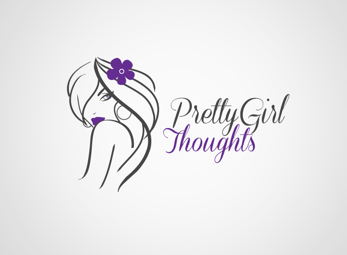 Logo Design by Jan Chua - Entry No. 36 in the Logo Design Contest Inspiring Logo Design for Pretty Girl Thoughts.