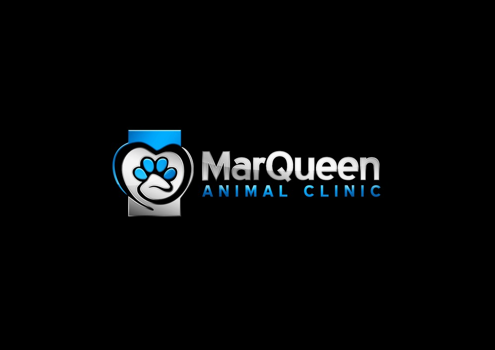 Logo Design by Respati Himawan - Entry No. 144 in the Logo Design Contest Fun Logo Design for MarQueen Animal Clinic.