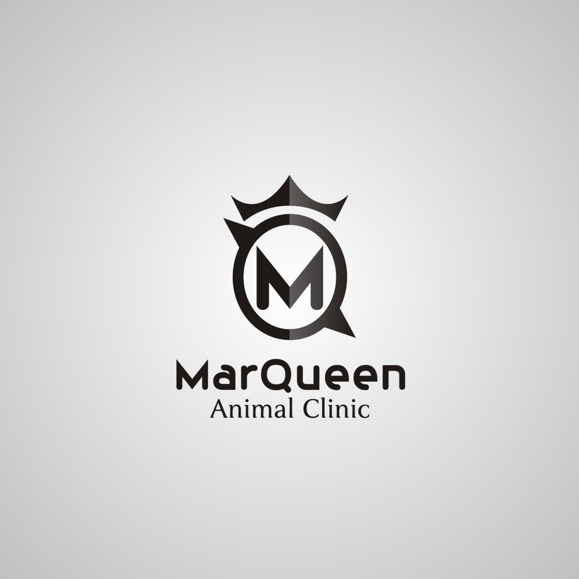 Logo Design by arteo_design - Entry No. 146 in the Logo Design Contest Fun Logo Design for MarQueen Animal Clinic.