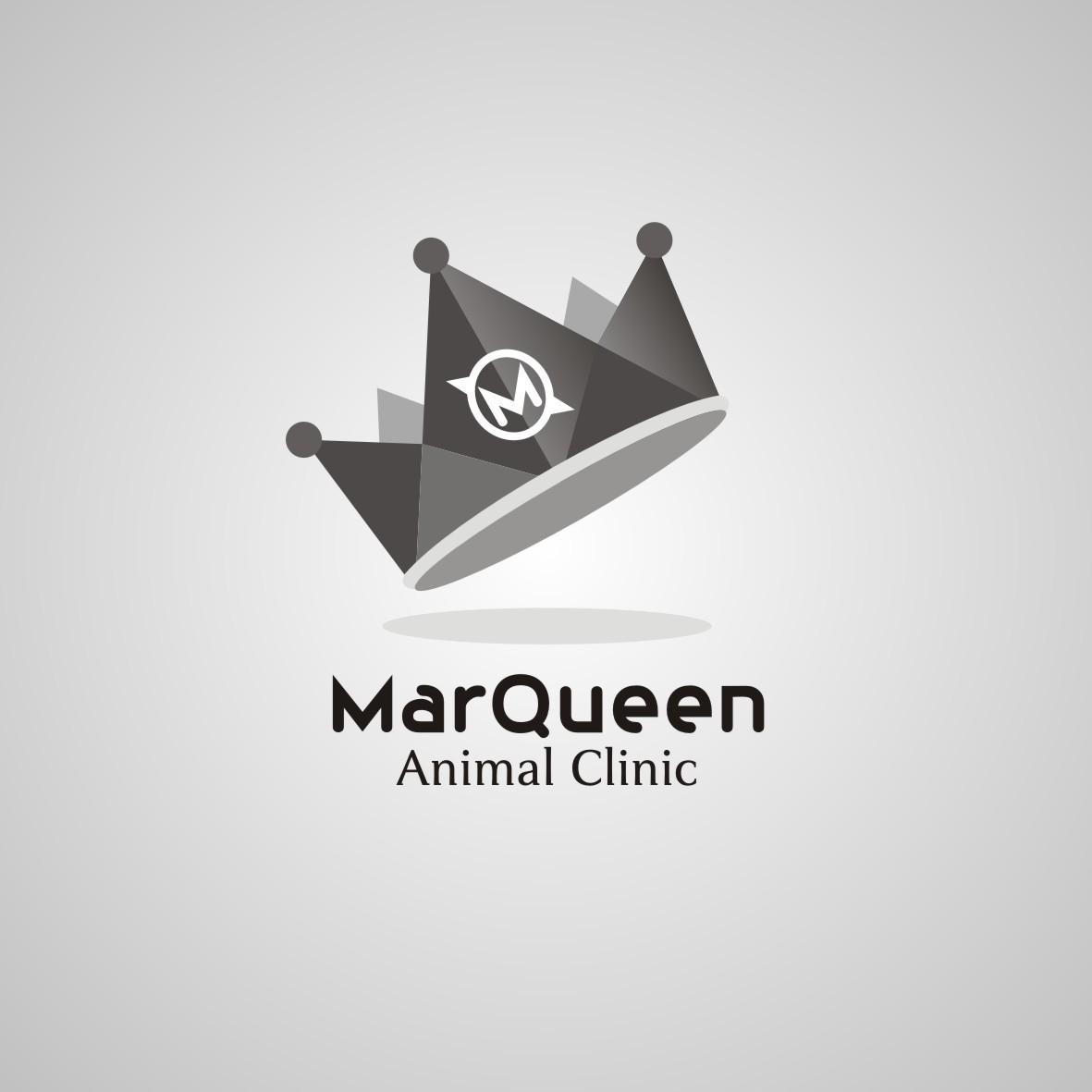 Logo Design by arteo_design - Entry No. 148 in the Logo Design Contest Fun Logo Design for MarQueen Animal Clinic.