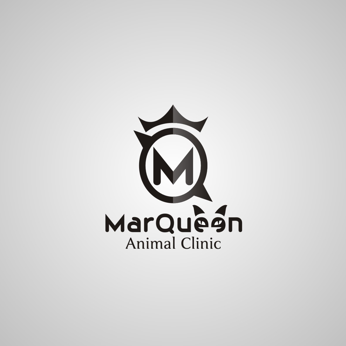 Logo Design by arteo_design - Entry No. 150 in the Logo Design Contest Fun Logo Design for MarQueen Animal Clinic.