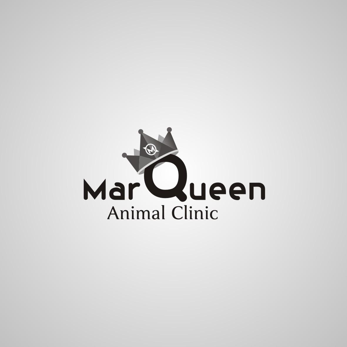 Logo Design by arteo_design - Entry No. 154 in the Logo Design Contest Fun Logo Design for MarQueen Animal Clinic.