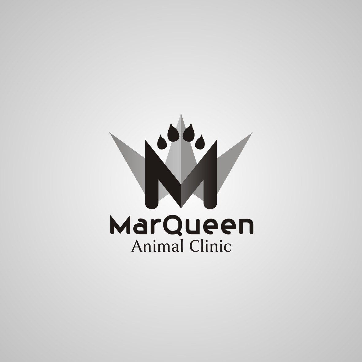 Logo Design by arteo_design - Entry No. 157 in the Logo Design Contest Fun Logo Design for MarQueen Animal Clinic.