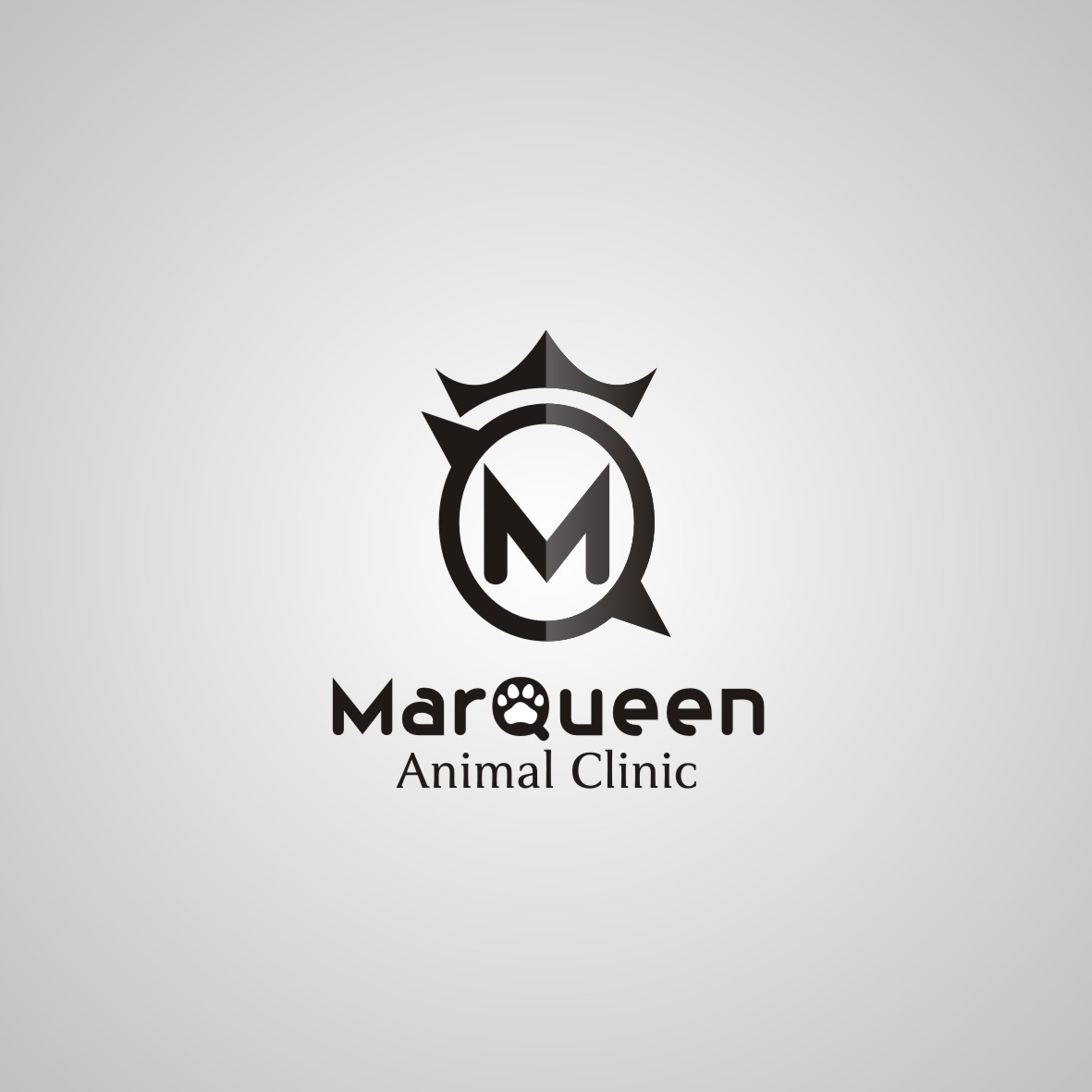 Logo Design by arteo_design - Entry No. 160 in the Logo Design Contest Fun Logo Design for MarQueen Animal Clinic.