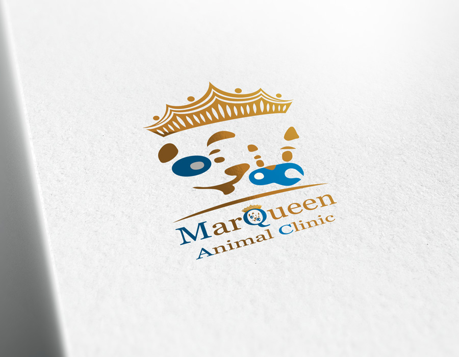 Logo Design by Adnan Younus - Entry No. 164 in the Logo Design Contest Fun Logo Design for MarQueen Animal Clinic.