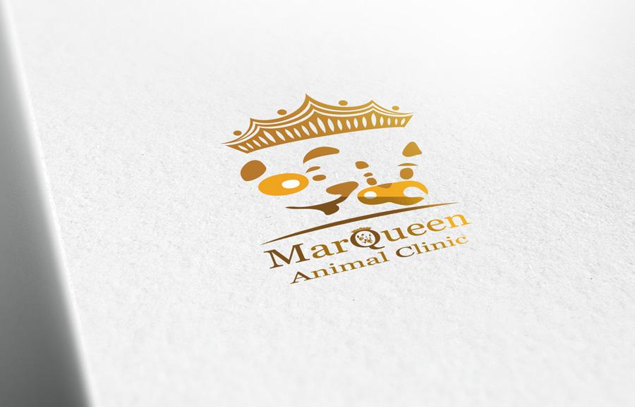 Logo Design by Adnan Younus - Entry No. 167 in the Logo Design Contest Fun Logo Design for MarQueen Animal Clinic.