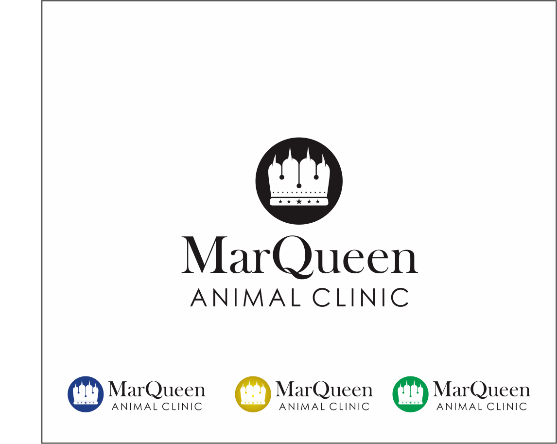 Logo Design by Armada Jamaluddin - Entry No. 170 in the Logo Design Contest Fun Logo Design for MarQueen Animal Clinic.
