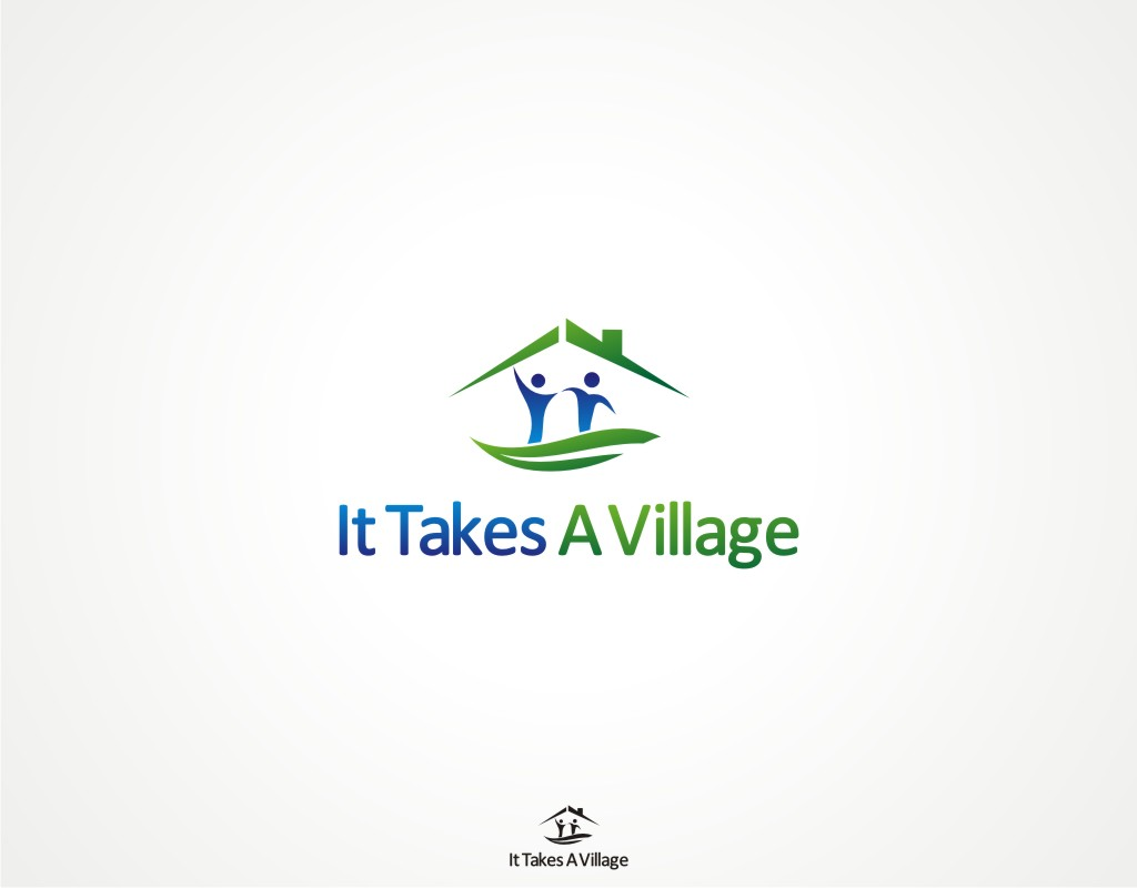Logo Design by Private User - Entry No. 5 in the Logo Design Contest Captivating Logo Design for It Takes A Village.