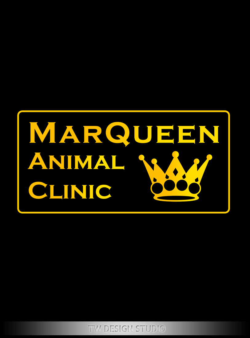 Logo Design by Private User - Entry No. 172 in the Logo Design Contest Fun Logo Design for MarQueen Animal Clinic.