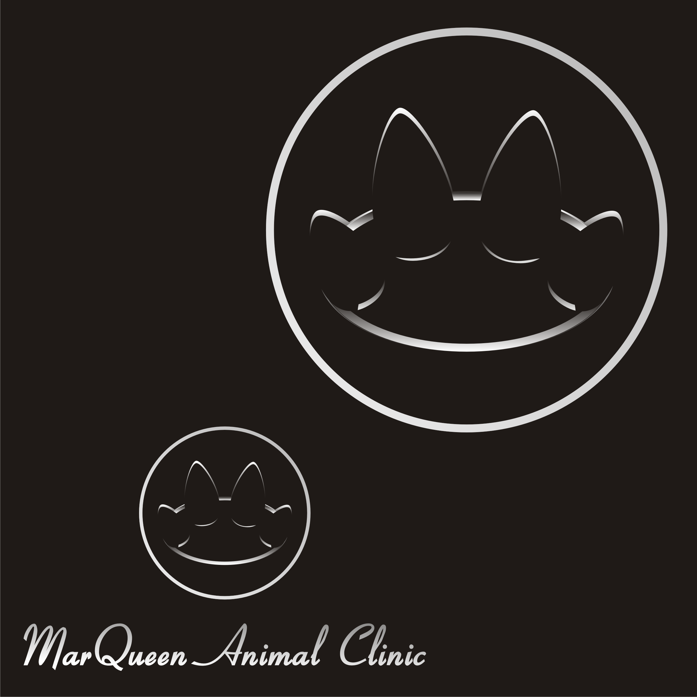 Logo Design by Private User - Entry No. 173 in the Logo Design Contest Fun Logo Design for MarQueen Animal Clinic.