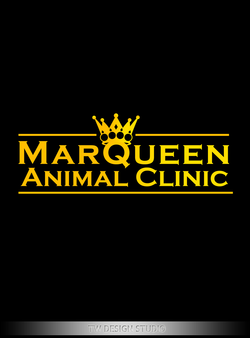 Logo Design by Private User - Entry No. 175 in the Logo Design Contest Fun Logo Design for MarQueen Animal Clinic.