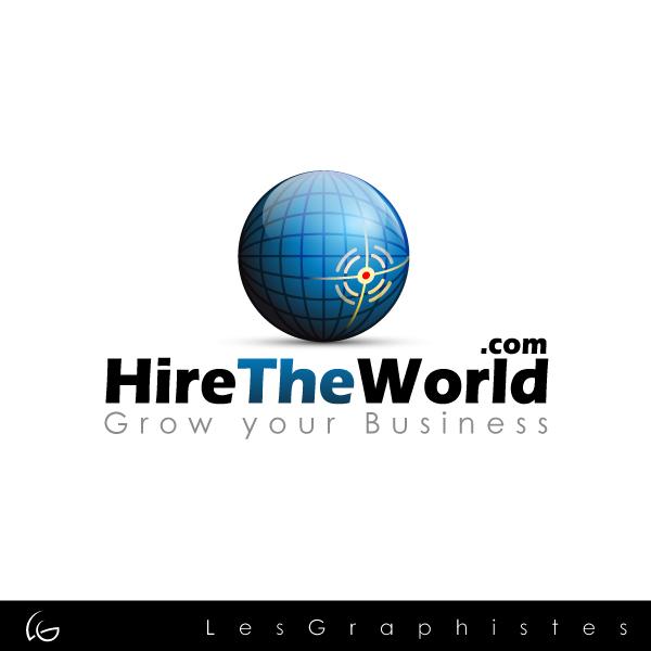 Logo Design by Les-Graphistes - Entry No. 228 in the Logo Design Contest Hiretheworld.com.