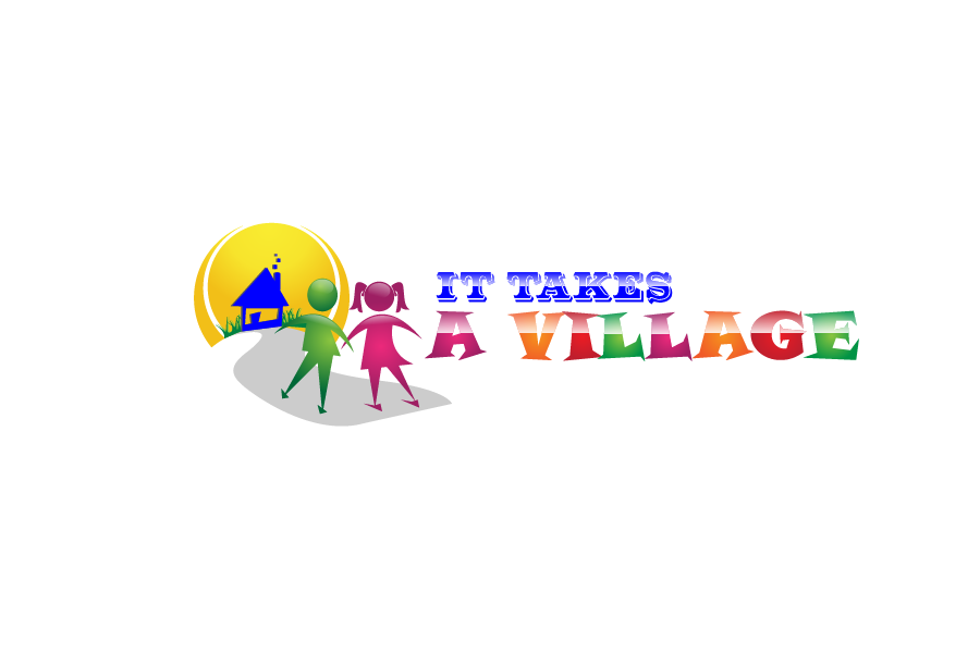 Logo Design by brands_in - Entry No. 6 in the Logo Design Contest Captivating Logo Design for It Takes A Village.