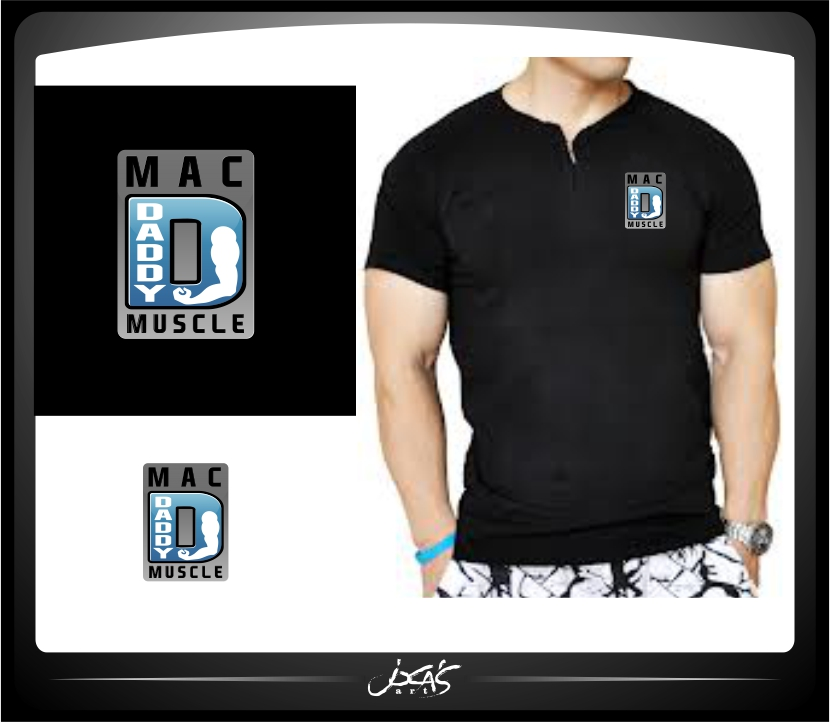 Logo Design by joca - Entry No. 40 in the Logo Design Contest New Logo Design for Mac Daddy Muscle.