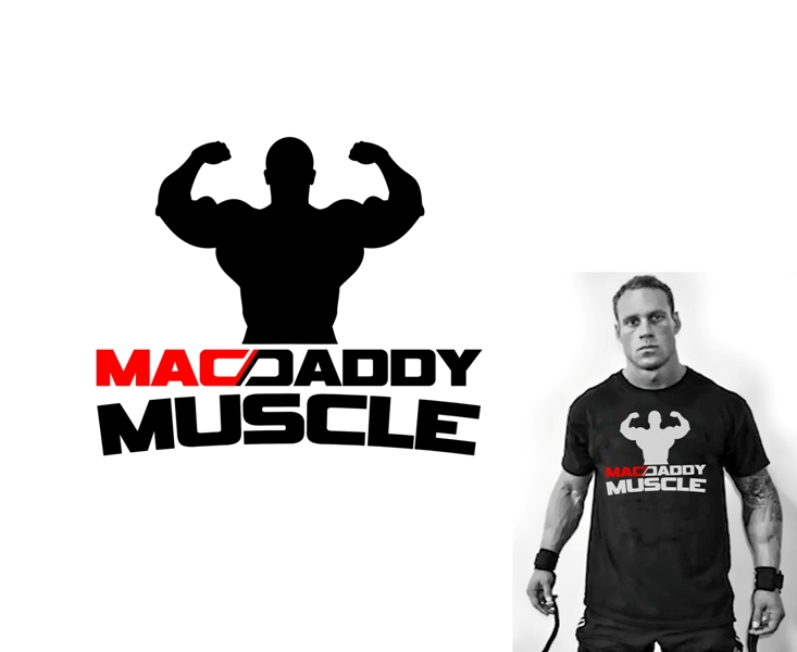 Logo Design by Juan_Kata - Entry No. 42 in the Logo Design Contest New Logo Design for Mac Daddy Muscle.
