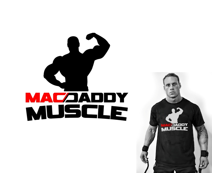 Logo Design by Juan_Kata - Entry No. 43 in the Logo Design Contest New Logo Design for Mac Daddy Muscle.