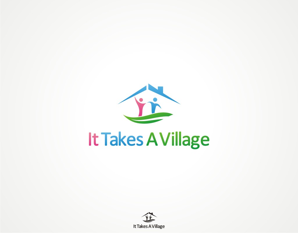 Logo Design by Private User - Entry No. 7 in the Logo Design Contest Captivating Logo Design for It Takes A Village.
