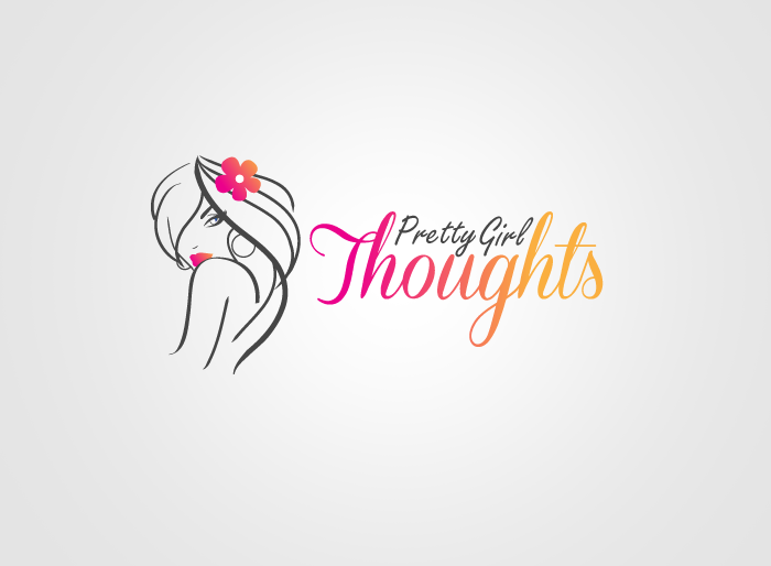 Logo Design by Jan Chua - Entry No. 51 in the Logo Design Contest Inspiring Logo Design for Pretty Girl Thoughts.