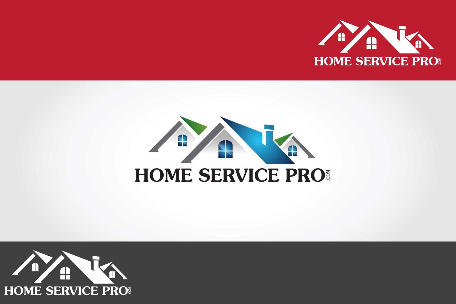 Logo Design by Private User - Entry No. 1 in the Logo Design Contest Captivating Logo Design for Home Services Pro   / HomeServicesPro.com.