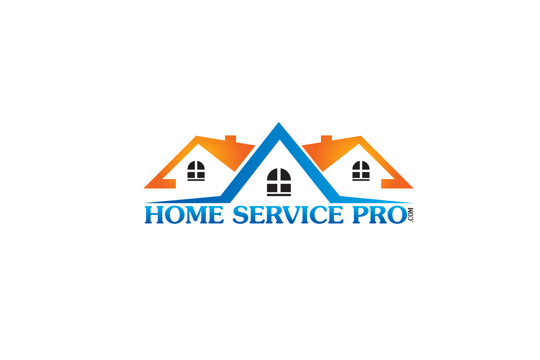 Logo Design by Private User - Entry No. 2 in the Logo Design Contest Captivating Logo Design for Home Services Pro   / HomeServicesPro.com.