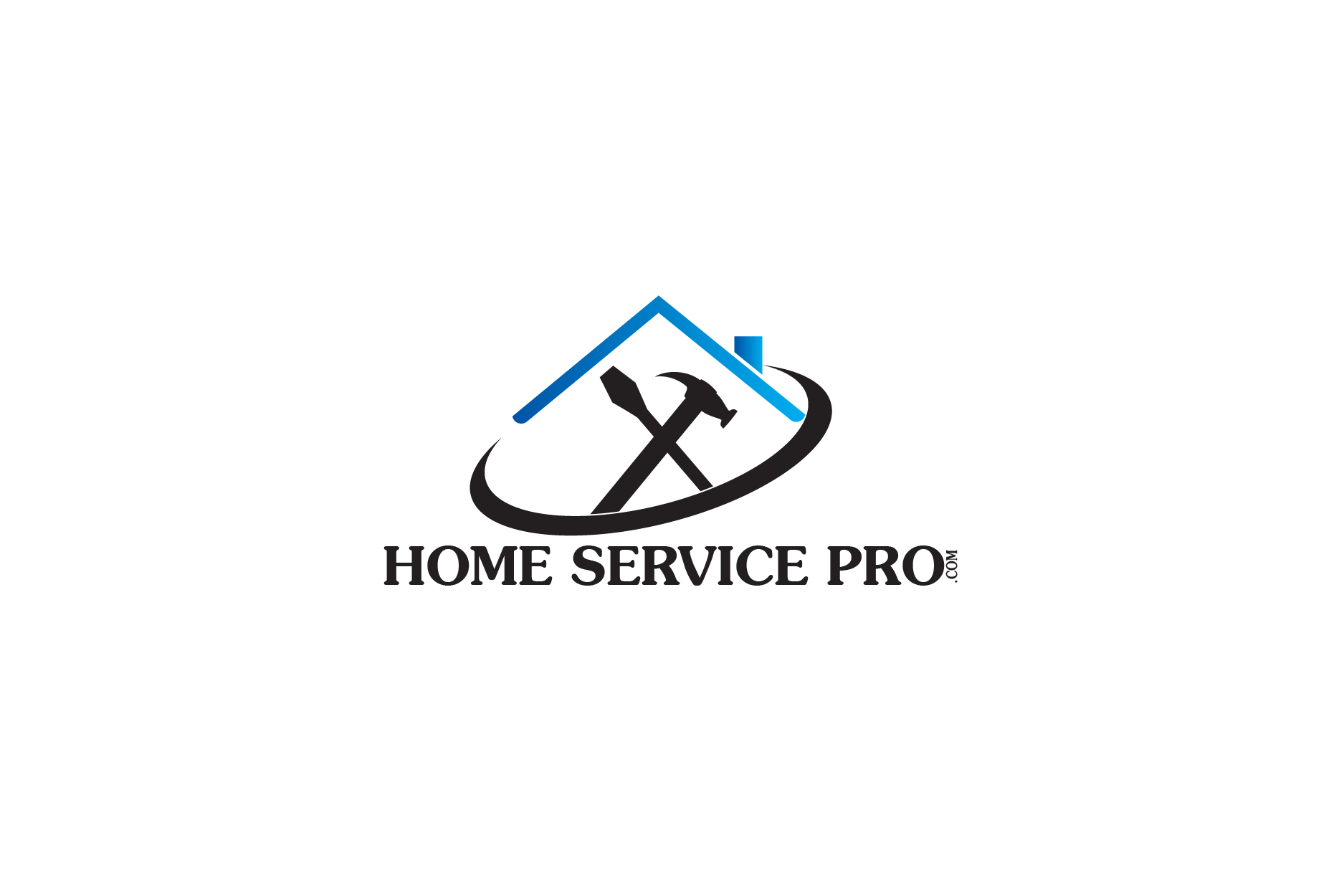 Logo Design by Private User - Entry No. 5 in the Logo Design Contest Captivating Logo Design for Home Services Pro   / HomeServicesPro.com.