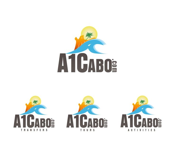 Logo Design by Juan_Kata - Entry No. 6 in the Logo Design Contest Inspiring Logo Design for A1Cabo.com.