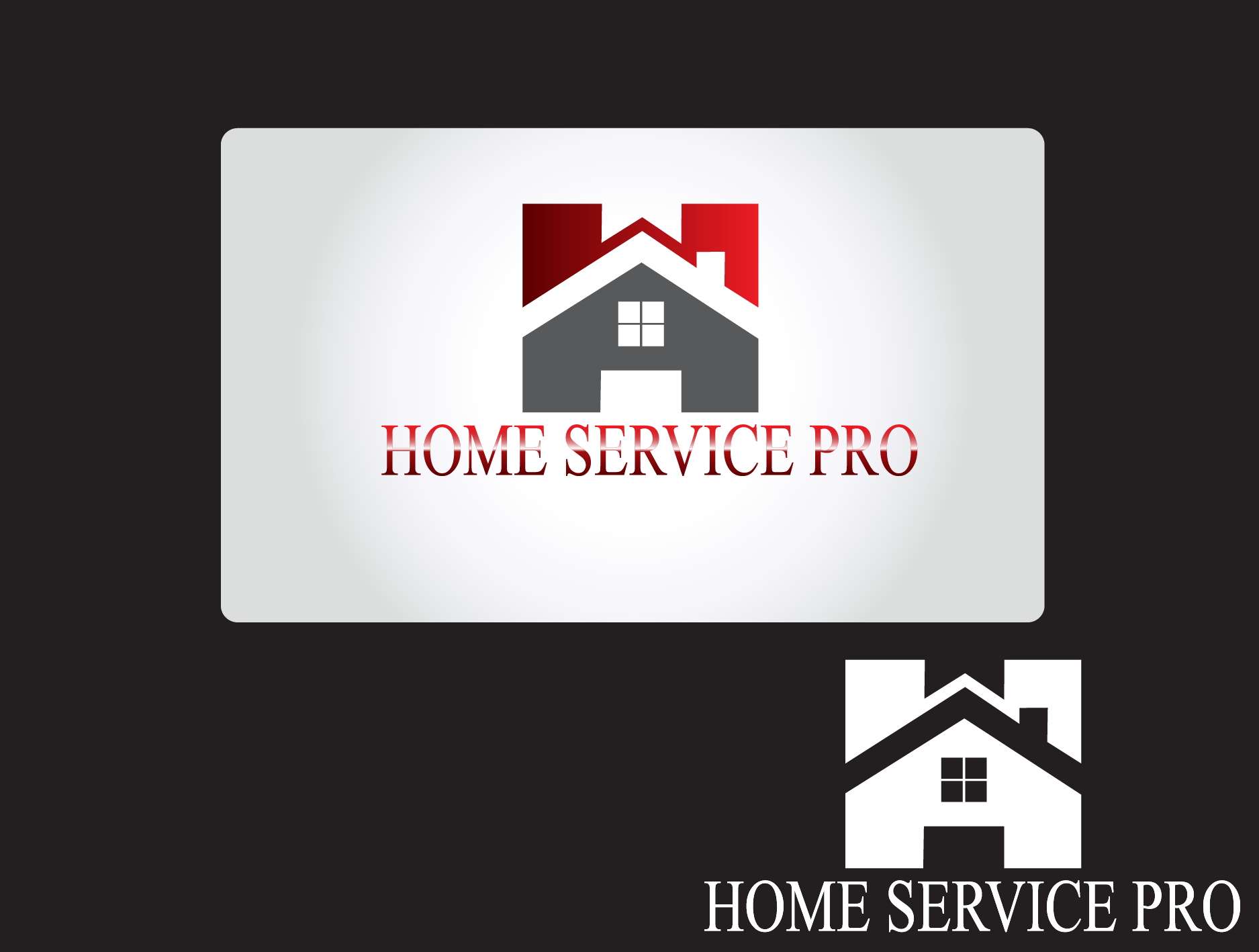 Logo Design by Private User - Entry No. 7 in the Logo Design Contest Captivating Logo Design for Home Services Pro   / HomeServicesPro.com.