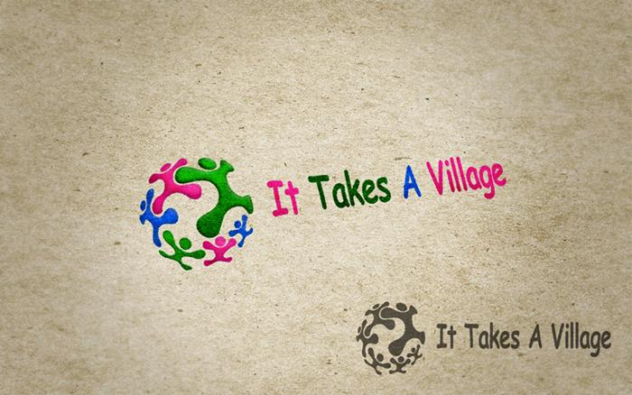 Logo Design by Respati Himawan - Entry No. 11 in the Logo Design Contest Captivating Logo Design for It Takes A Village.