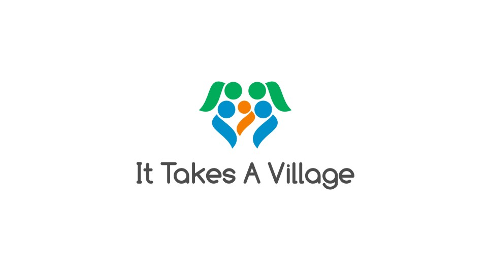Logo Design by untung - Entry No. 19 in the Logo Design Contest Captivating Logo Design for It Takes A Village.