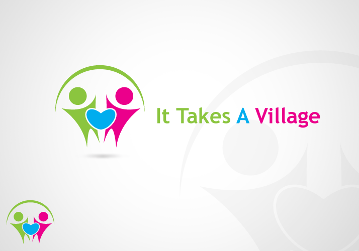 Logo Design by Jan Chua - Entry No. 20 in the Logo Design Contest Captivating Logo Design for It Takes A Village.