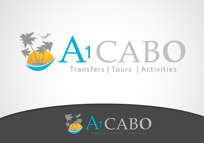 Logo Design by Jan Chua - Entry No. 12 in the Logo Design Contest Inspiring Logo Design for A1Cabo.com.