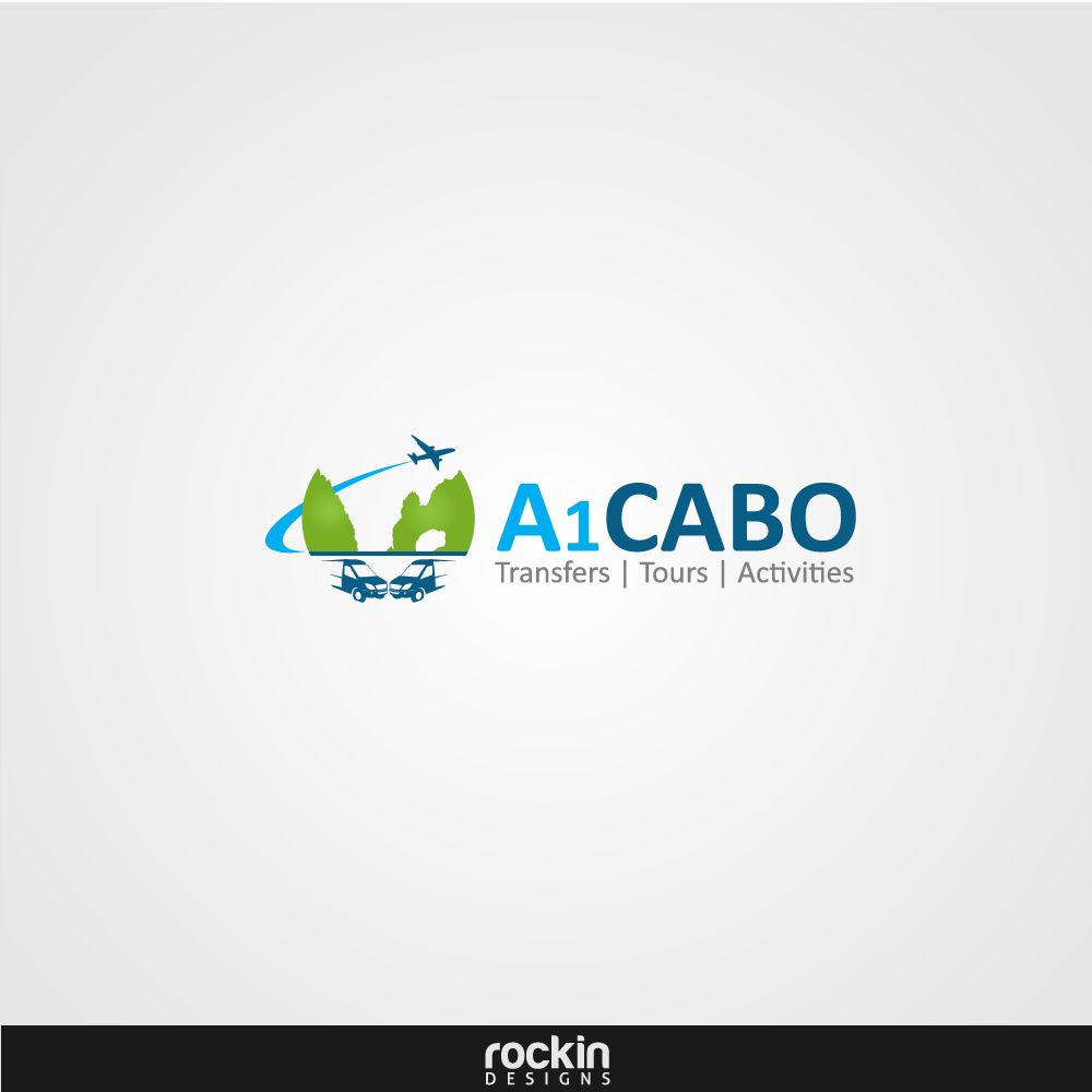 Logo Design by rockin - Entry No. 13 in the Logo Design Contest Inspiring Logo Design for A1Cabo.com.