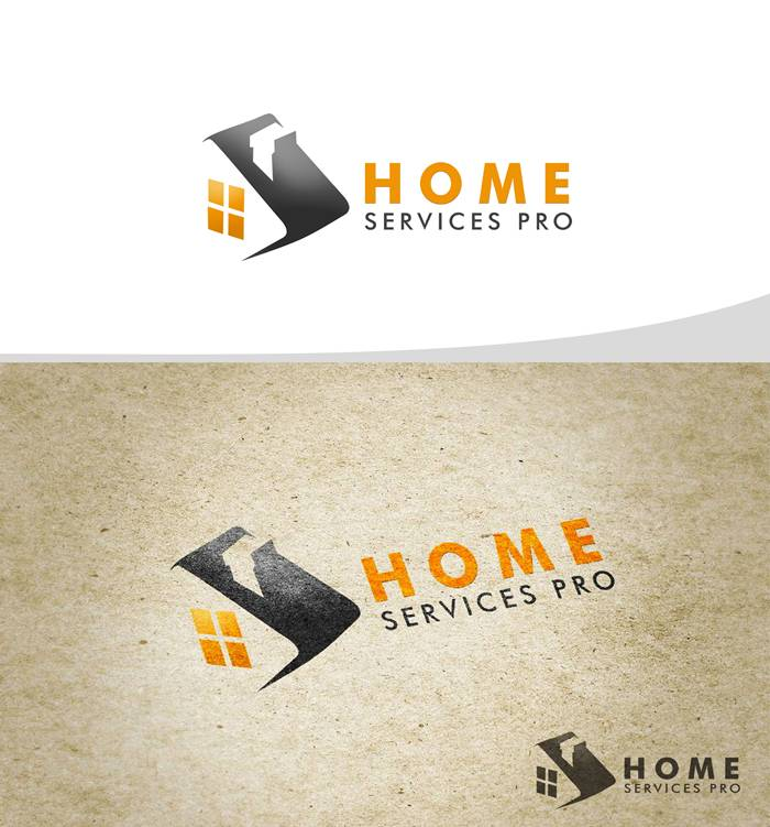 Logo Design by Respati Himawan - Entry No. 12 in the Logo Design Contest Captivating Logo Design for Home Services Pro   / HomeServicesPro.com.