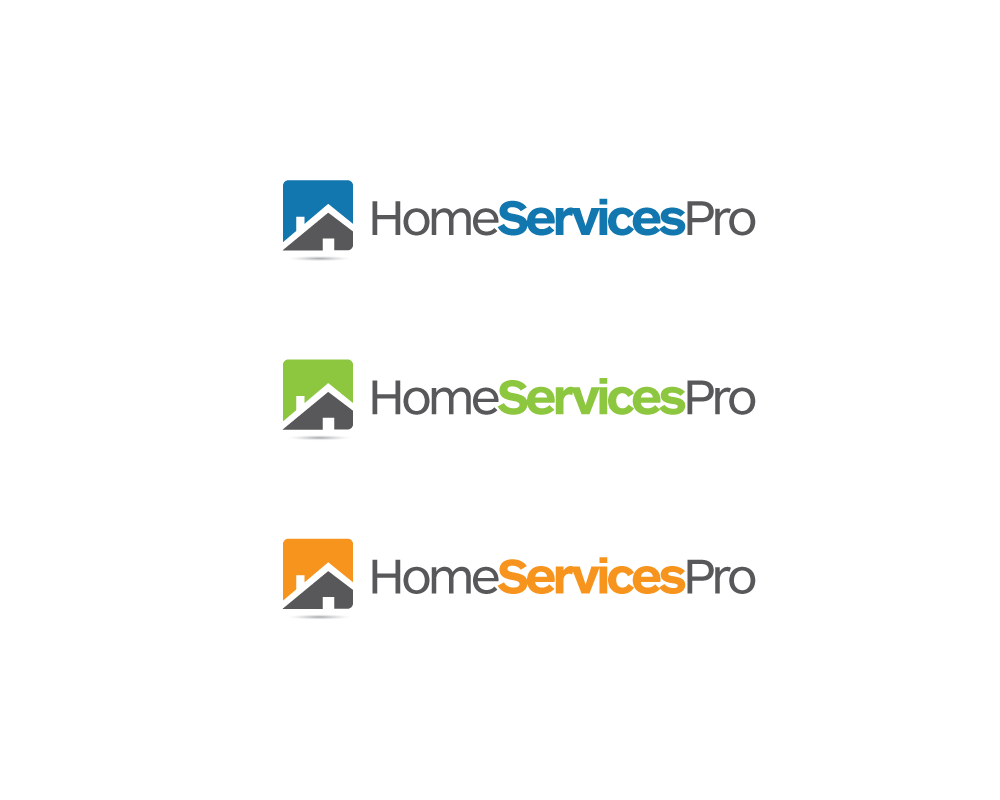 Logo Design by roc - Entry No. 14 in the Logo Design Contest Captivating Logo Design for Home Services Pro   / HomeServicesPro.com.