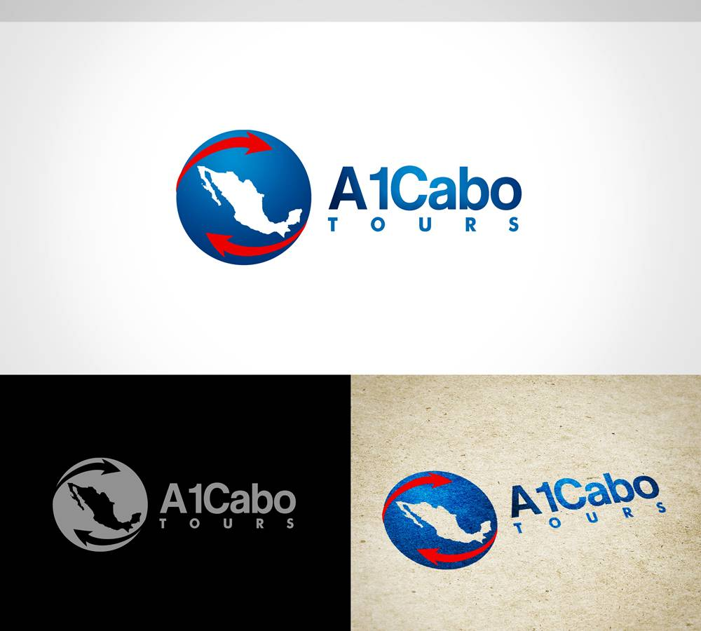 Logo Design by Respati Himawan - Entry No. 14 in the Logo Design Contest Inspiring Logo Design for A1Cabo.com.