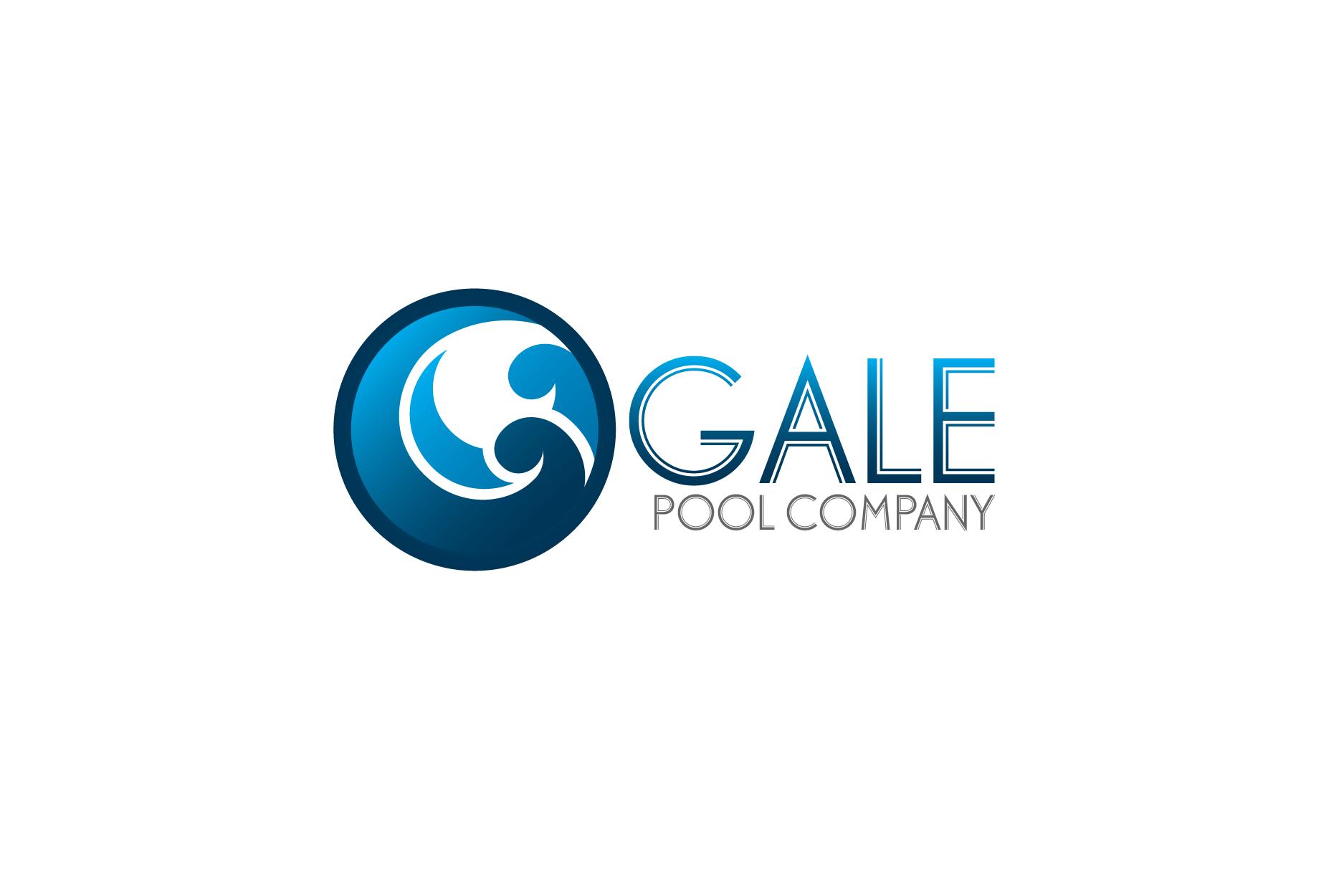 Logo Design by Private User - Entry No. 3 in the Logo Design Contest Imaginative Logo Design for Gale Pool Company.