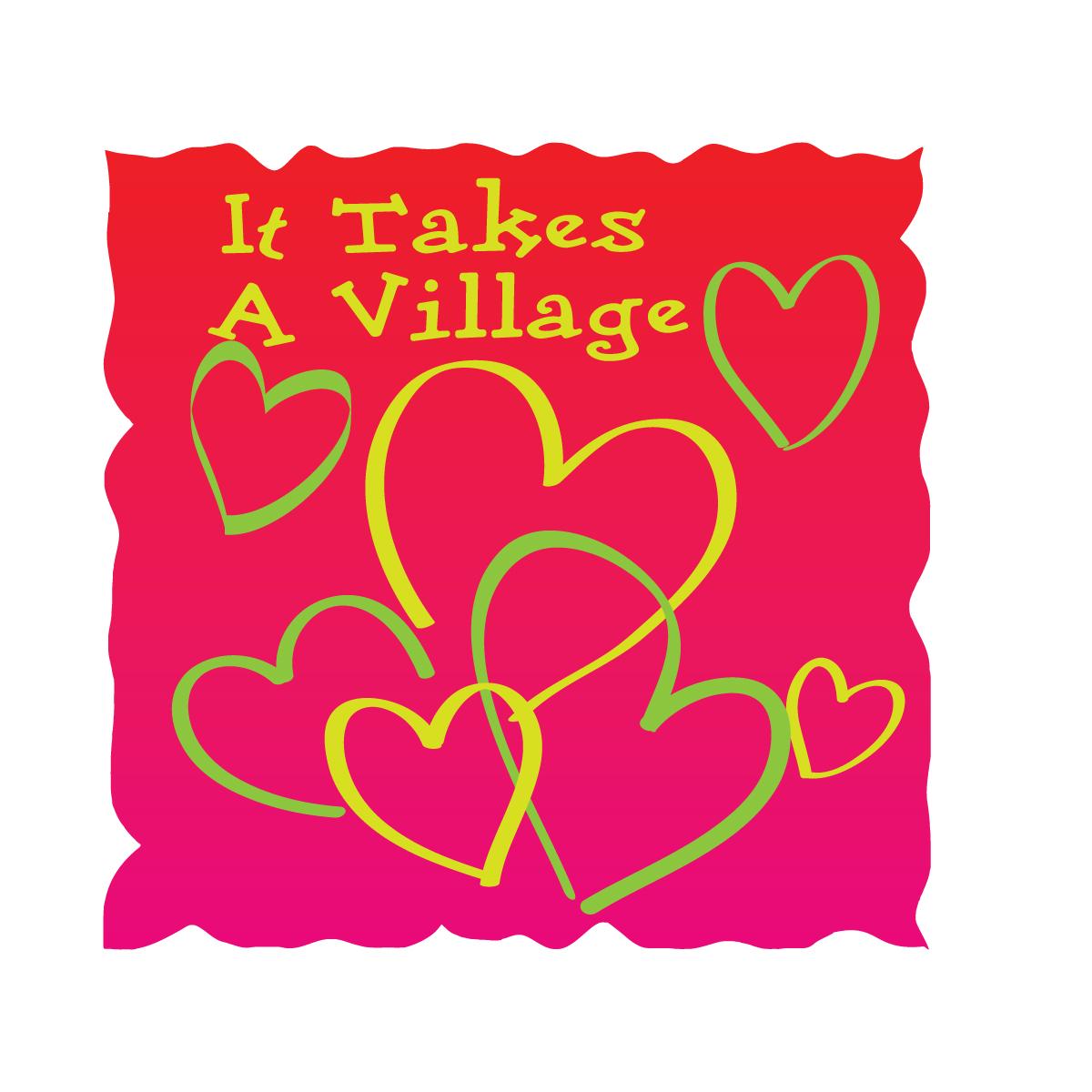 Logo Design by danelav - Entry No. 22 in the Logo Design Contest Captivating Logo Design for It Takes A Village.