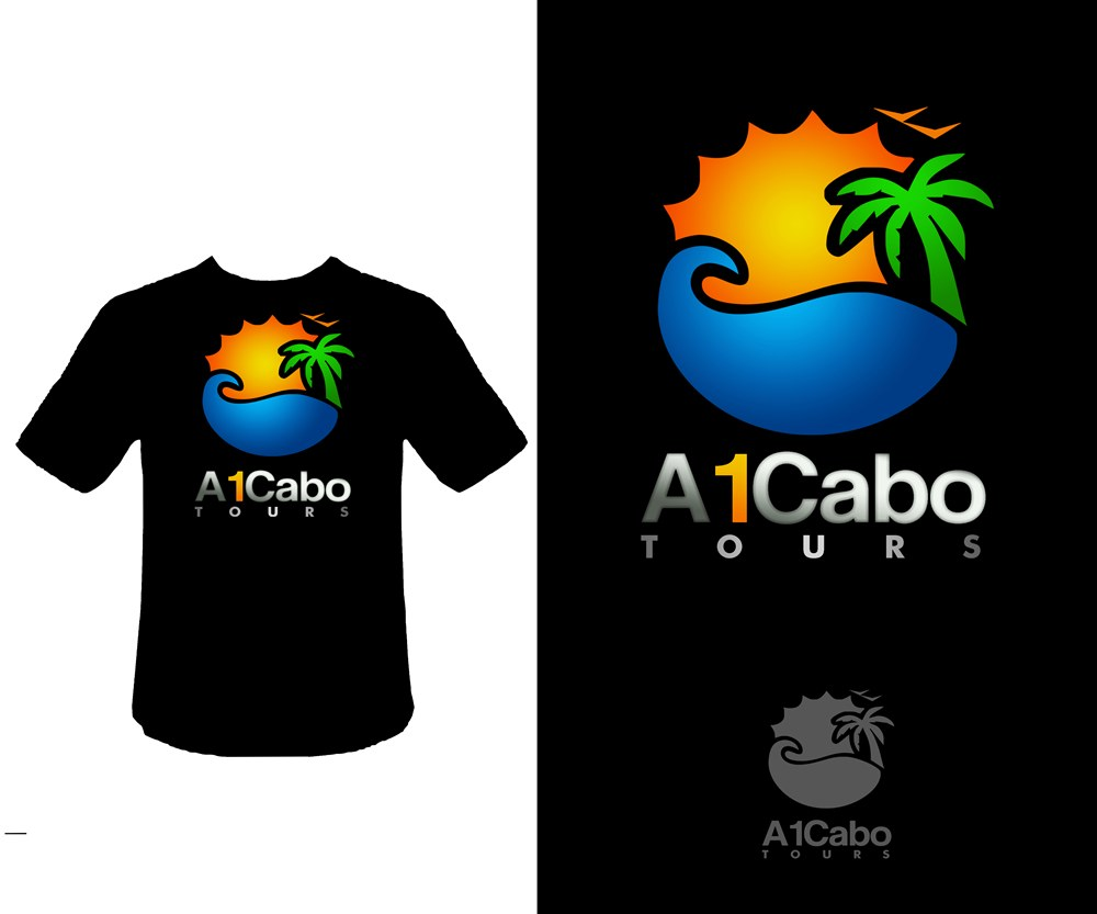 Logo Design by Respati Himawan - Entry No. 19 in the Logo Design Contest Inspiring Logo Design for A1Cabo.com.