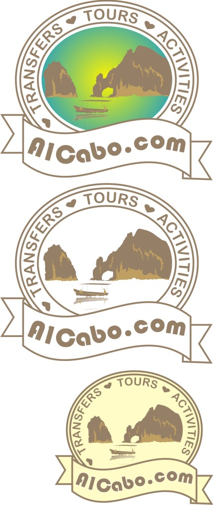 Logo Design by Korsunov Oleg - Entry No. 20 in the Logo Design Contest Inspiring Logo Design for A1Cabo.com.