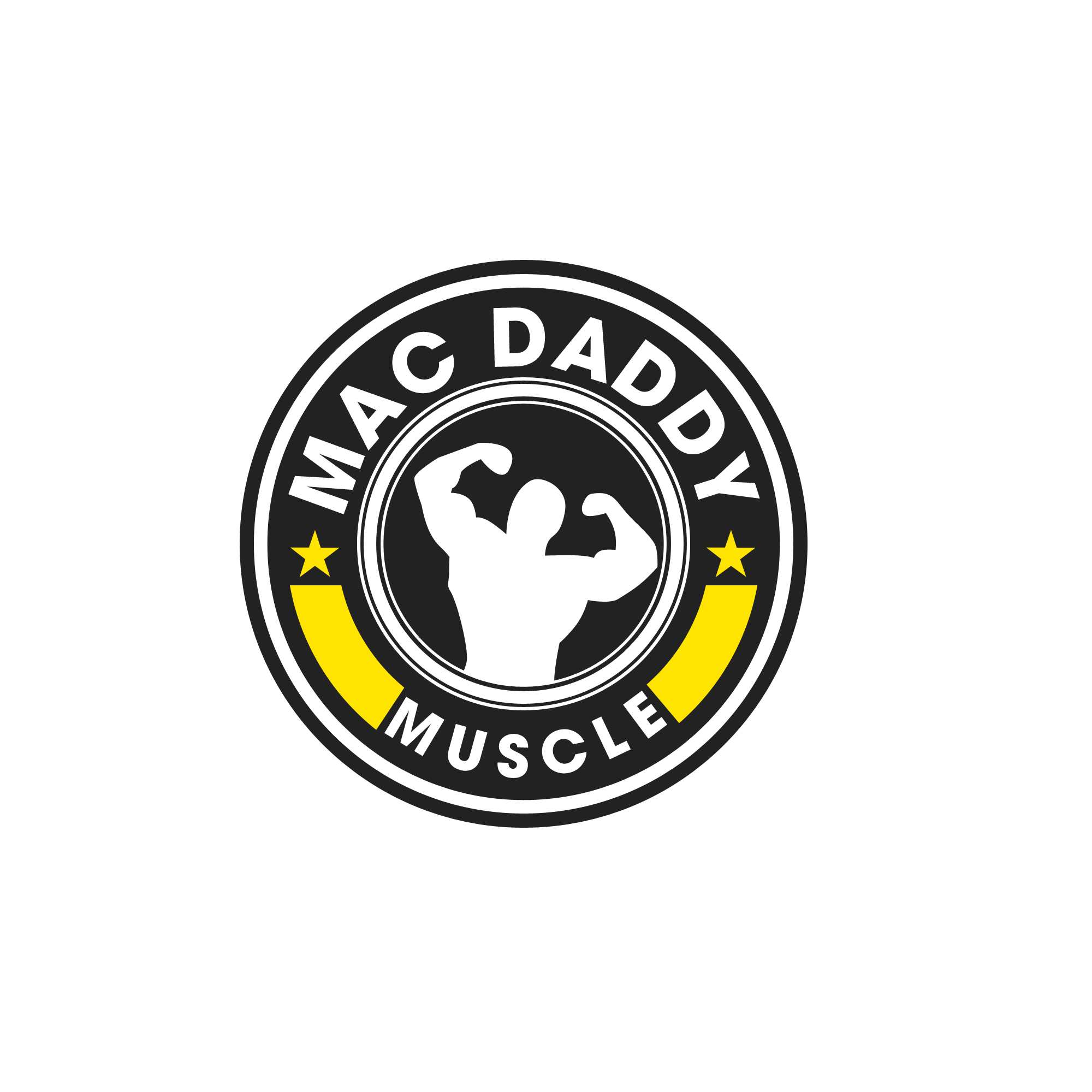 Logo Design by Kenneth Joel - Entry No. 47 in the Logo Design Contest New Logo Design for Mac Daddy Muscle.
