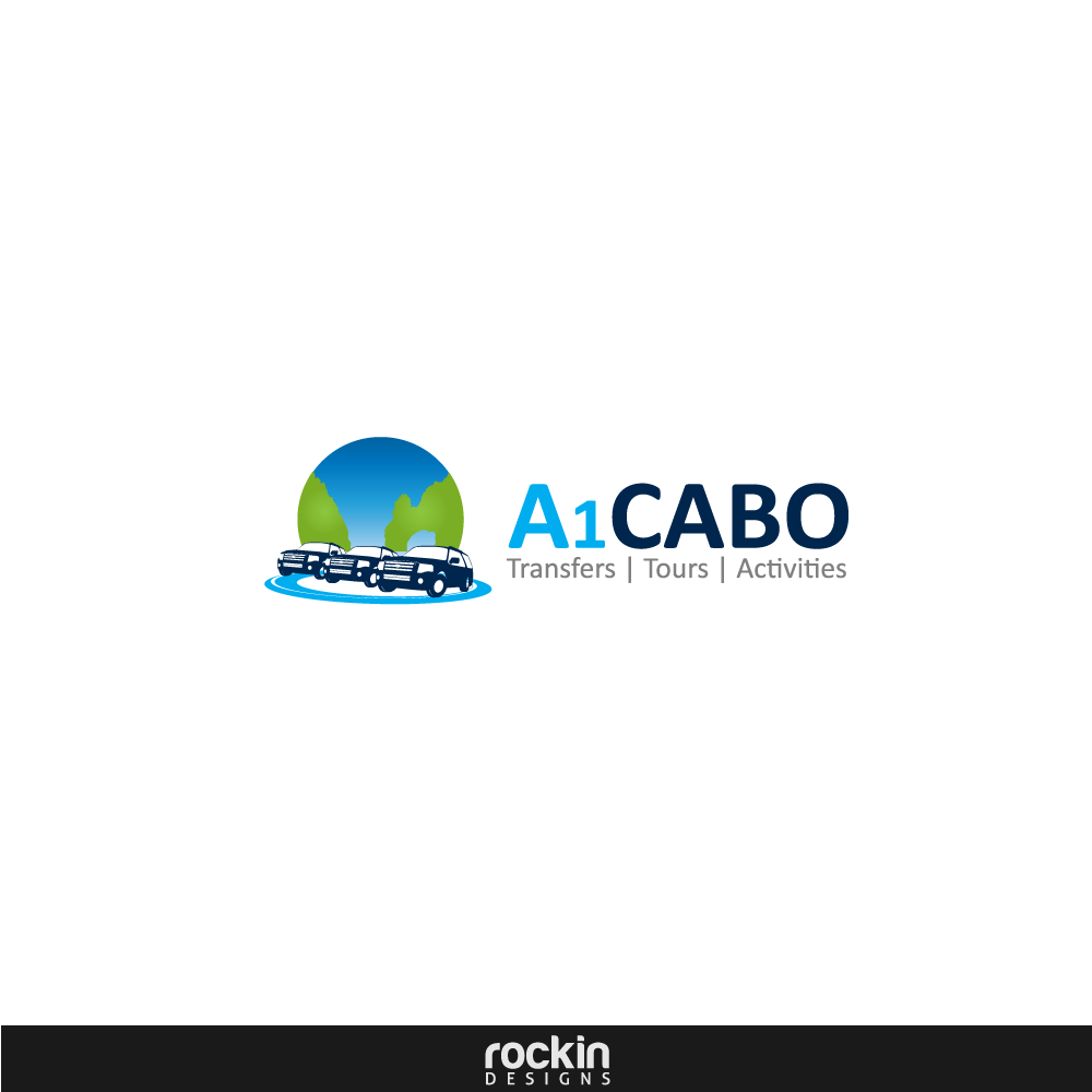 Logo Design by rockin - Entry No. 23 in the Logo Design Contest Inspiring Logo Design for A1Cabo.com.