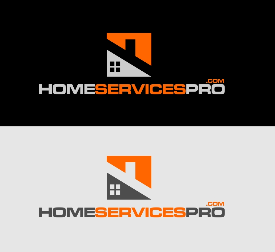 Logo Design by Reivan Ferdinan - Entry No. 23 in the Logo Design Contest Captivating Logo Design for Home Services Pro   / HomeServicesPro.com.