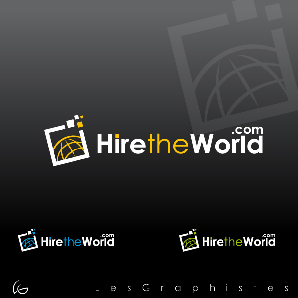 Logo Design by Les-Graphistes - Entry No. 236 in the Logo Design Contest Hiretheworld.com.