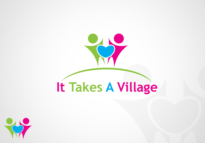 Logo Design by Jan Chua - Entry No. 26 in the Logo Design Contest Captivating Logo Design for It Takes A Village.